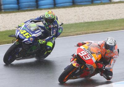Start ke-15, Rossi: Saya Sudah Tidak Cepat Lagi