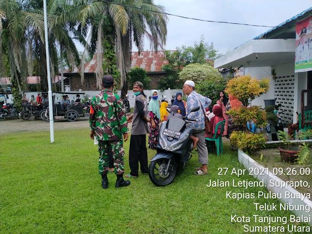 Komsos Cara Personel Jajaran Kodim 0208/Asahan Bina Silaturahmi Dengan Warga Binaan
