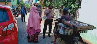Disiplinkan Warga Pakai Masker, Polres Pelabuhan Terus Lakukan Operasi Yustisi