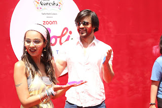 Bollywood and TV Show Celebs Playing Holi 2017   Zoom Holi 2017 Celetion 13 MARCH 2017 057.JPG