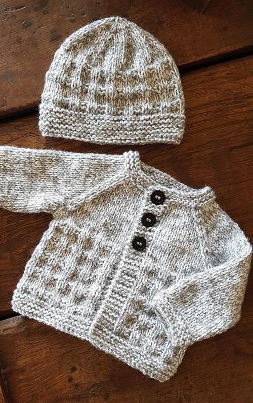 Charlie Baby Cardigan - Free Knitting Pattern
