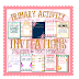 PRIMARY ACTIVITY  INVITATIONS that YOU Edit!
