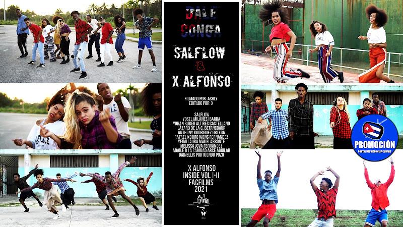 SALFLOW & X Alfonso - ¨Dale Conga¨ - Videoclip - Director: X Alfonso. Portal Del Vídeo Clip Cubano. Música cubana. Cuba.
