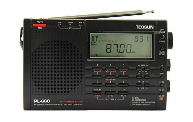 Полнофункциональный всеволновый радиоприемник Tecsun PL 660 технические характеристики и отзывы где купить по лучшей цене