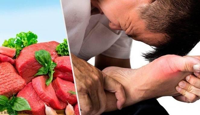 5 Makanan Ini Bisa Meningkatkan Kadar Asam Urat