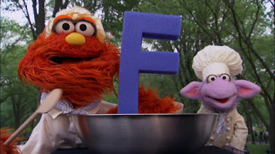Chef Ovejita and Chef Murray, Alphabet Cook off letter F, Sesame Street Episode 4317 Figure It Out Baby Figure It Out season 43