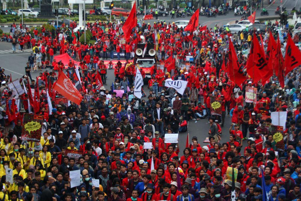 Serentak di 20 Provinsi, 10 Ribu Buruh Bakal Demonstrasi Desak Perusahaan Bayar THR Tanpa Dicicil
