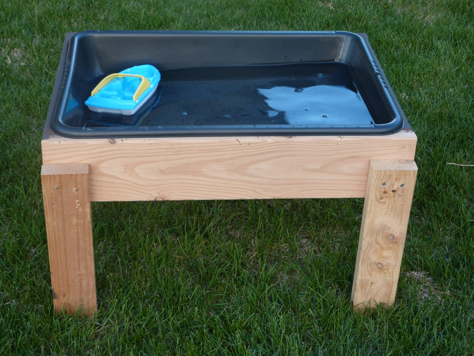 My son loves playing with the water table. I know it will get lots of ...