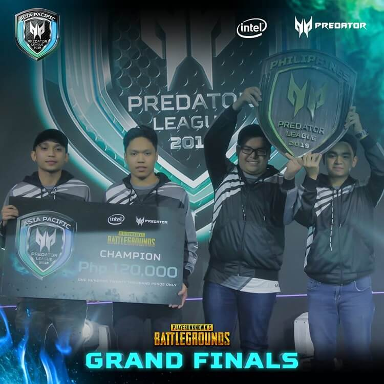 Team Arkangel Wins Predator League PUBG Philippine Finals