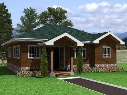 20 small beautiful bungalow house design ideas ideal for for Small house design native