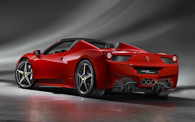 ferrari 458 spider widescreen hd wallpaper