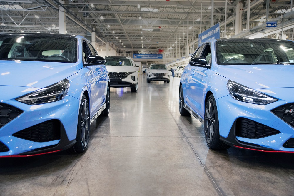 Hyundai starts production of the new i30 N in Europe