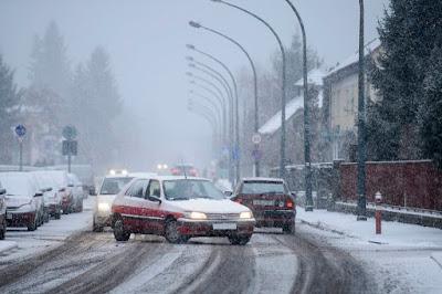 hóvihar, Románia, közlekedés, forgalomkorlátozás,