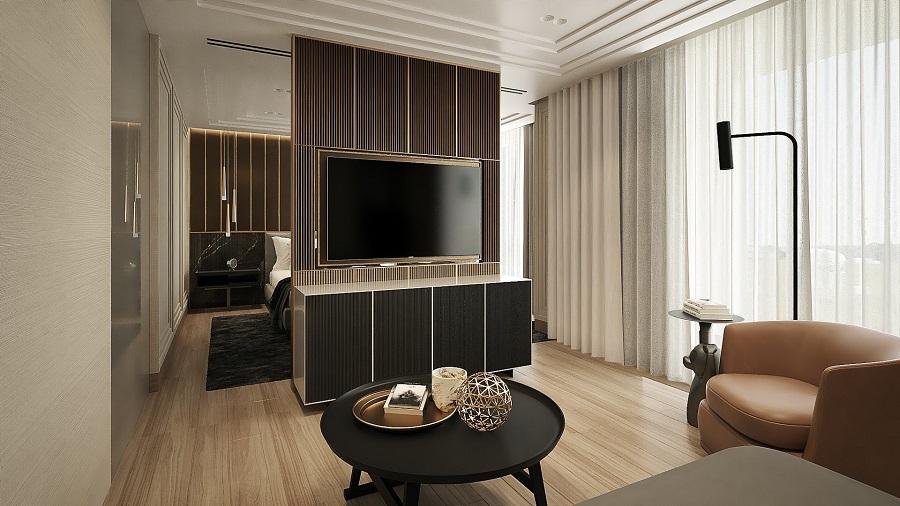 thiết kế nội thất biệt thự 3 tầng 4