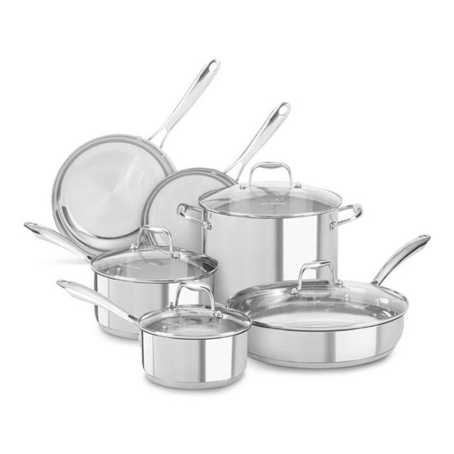 Mart Madness Stainless Steel Cookware Set Giveaway from Nebraska Furniture Mart!