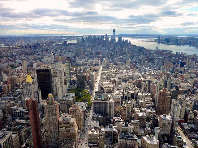 Lower Manhattan Empire State Building Manhattan