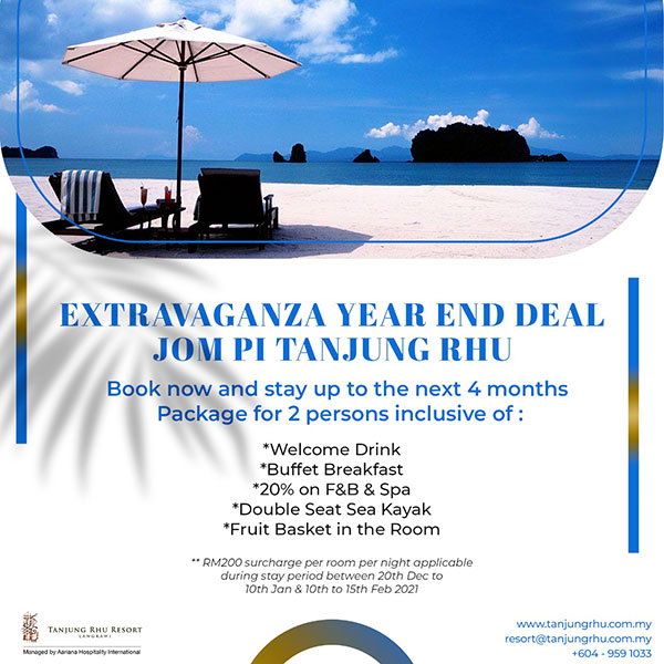 Hotel and Resort Promotion in Langkawi 2021