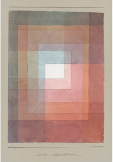 Paul Klee painting - Polyphon Gefasstes Weiss