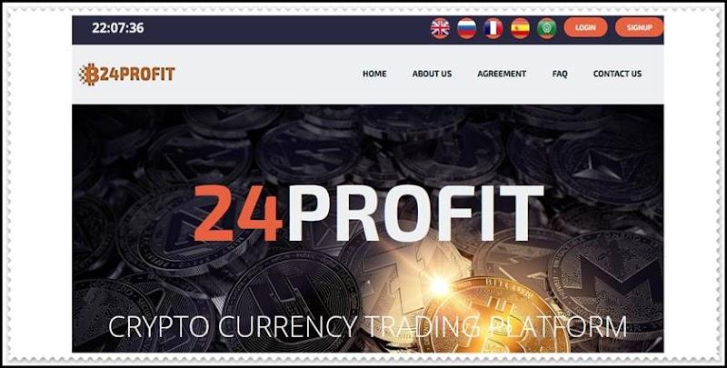 Мошеннический сайт 24profit.space – Отзывы, развод, платит или лохотрон? Мошенники