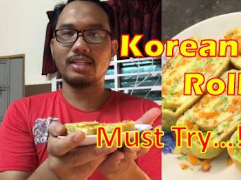 Resepi Telur Gulung Korea | Korean Egg Roll Recipe