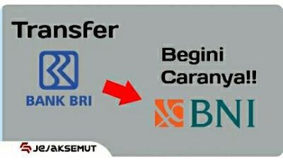 Cara Transfer BRI ke BNI lewat ATM