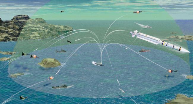 Ilustrasi pertahanan udara VL MICA