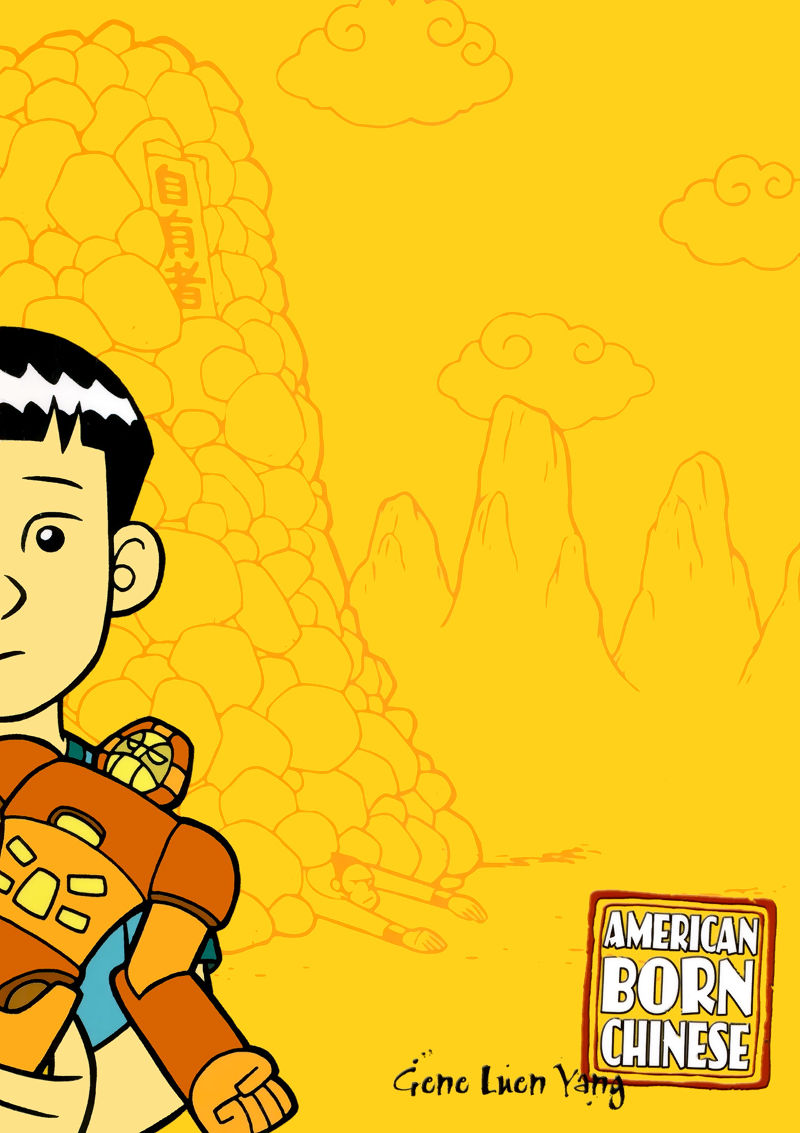 Cover page of American Born Chinese book online
