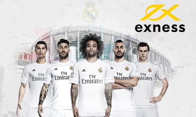 Kerjasama Real Madrid EXNESS