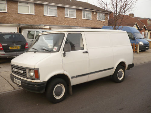 84cc723dc8 Here is a nice panel van that is a perfect base to build up a custom CF. It  looks to be all stock and clean.