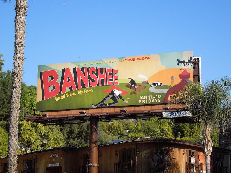 Banshee TV billboard