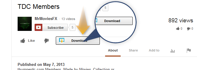 how to download youtube videos without any software in firefox