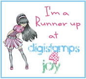 Runner Up at Digistamps4Joy