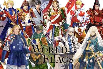 Melihat Budaya, Sejarah, dan Identitas Negara Dalam Bentuk Anime Keren !!