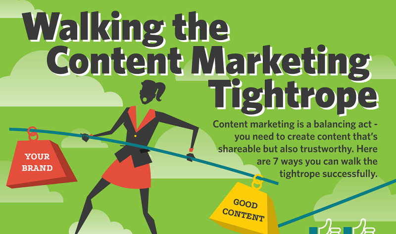 Seven Musts of Creating Trustworthy Content - #infographic