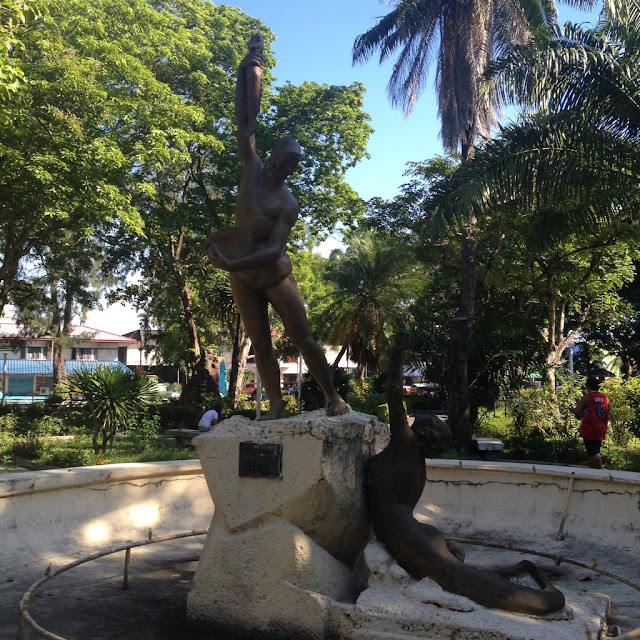 Fountain at Bacolod City Plaza
