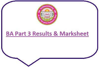 VBSPU Jaunpur BA 3rd Year Result 2021