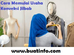 Buat Info - Cara Memulai Usaha Konveksi Jilbab