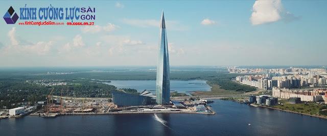 Chiêm ngưỡng tòa nhà kính cường lực chọc trời cao nhất châu Âu