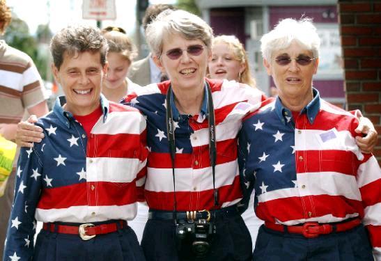 The Freeport Flag Ladies