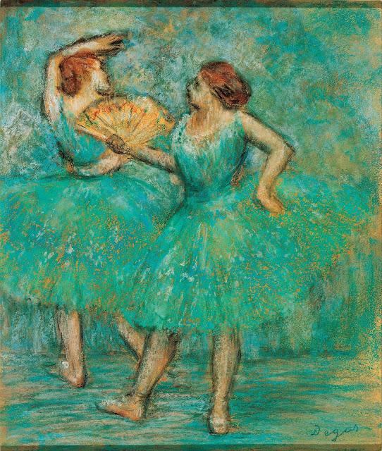 Эдгар Дега - Две танцовщицы (ок.1905)