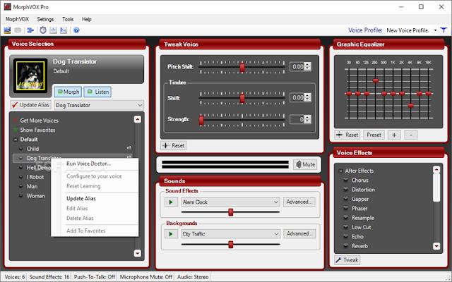 MorphVOX Pro F.u.l.l – Phần mềm đổi giọng nói