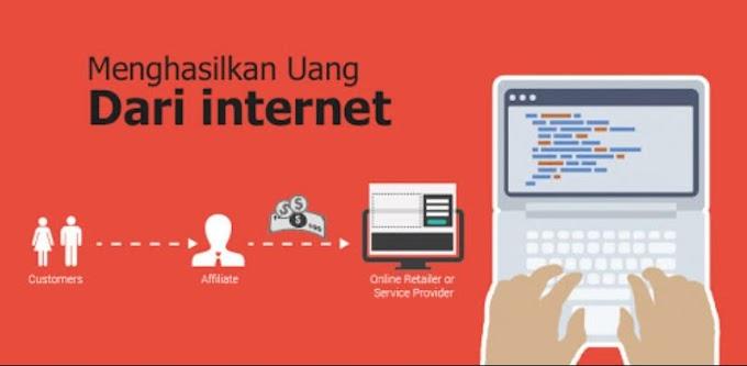 Cara mendapatkan uang dari internet sangat mudah