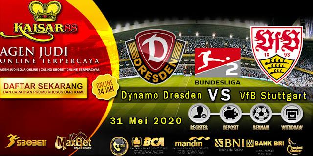 Prediksi Bola Terpercaya Liga Bundesliga 2 Dynamo Dresden vs Stuttgart 31 Mei 2020