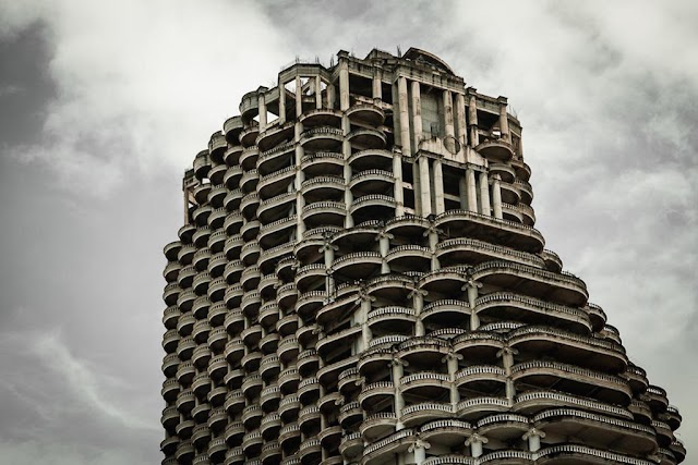 Skyscrapers are forgotten by the world