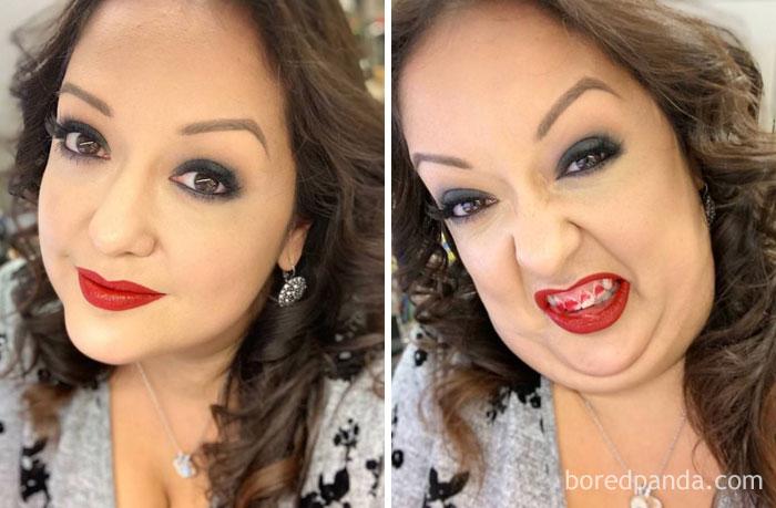 30 αστείες φωτογραφίες πριν και μετά που θα δυσκολευτείτε να πιστέψετε ότι πρόκειται για το ίδιο άτομο 90