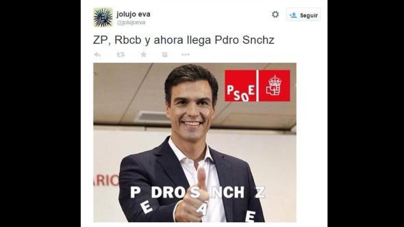 Pedro Sánchez, Pdro Snchz, ¡Q ZP, RBLCB, memes,