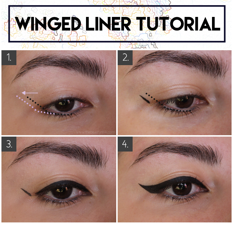 Winged Eyeliner for Hooded & Small Eyes: Techniques and ...