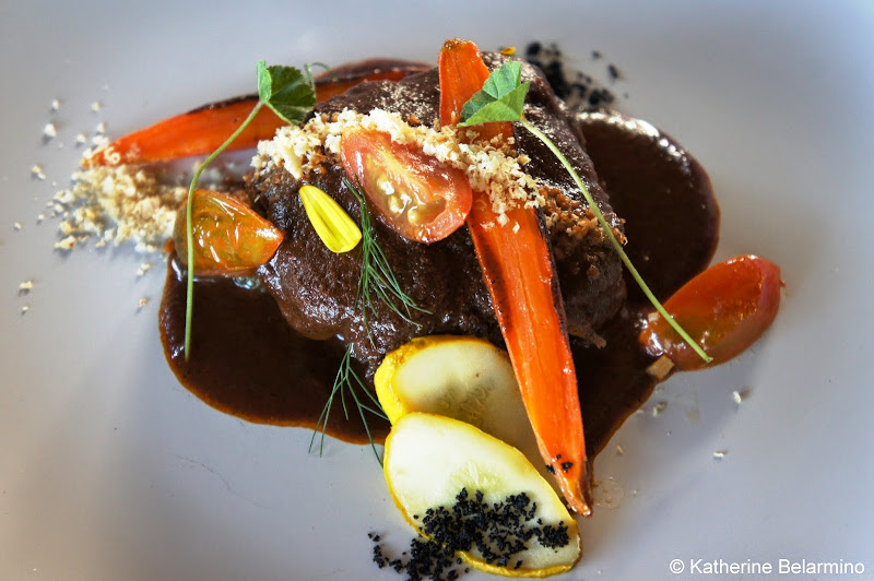 Malva's Braised Ox Tail Valle de Guadalupe Baja California Mexico