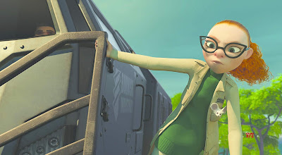 "Sarah Paulson plays Dr. Zara in ""Abominable,"" the latest animated film from Dreamworks Pictures"