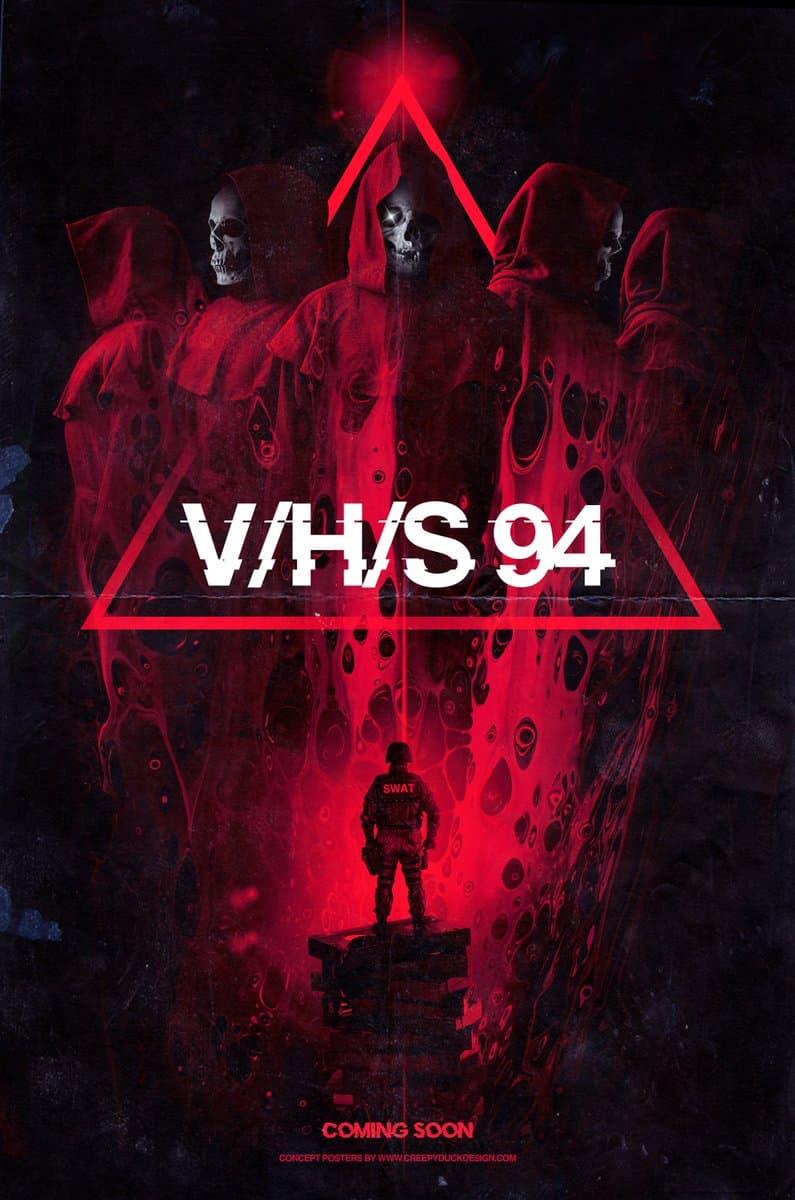 Shudder показал трейлер хоррор-антологии V/H/S/94 - Постер